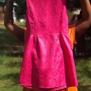 Pink Sunday dress